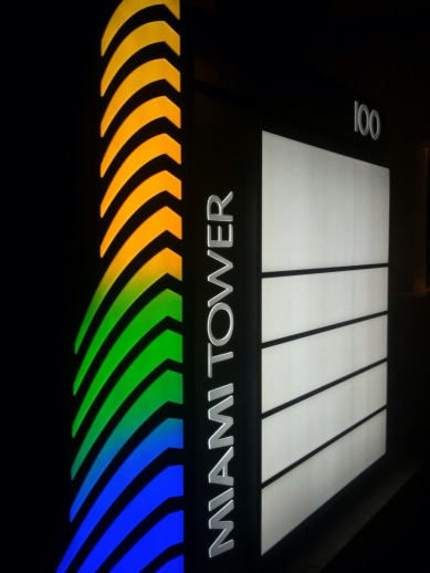 Miami Tower RGB LED Sign