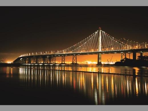 San Francisco Bay Bridge LED Lighting
